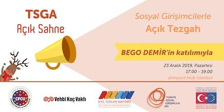TSGA Açık Sahne // Açık Tezgah @İstanbul tickets