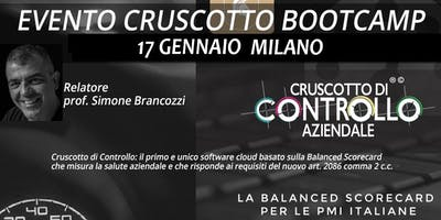BOOTCAMP CRUSCOTTO DI CONTROLLO, Milano, 17 gennaio