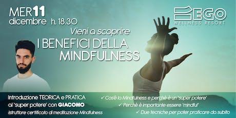 Workshop I Benefici della Mindfulness biglietti