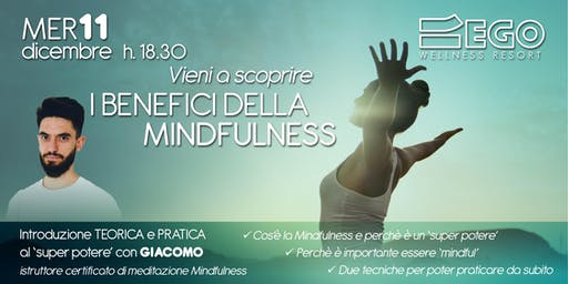 Workshop I Benefici della Mindfulness