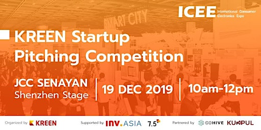 Kreen Startup Pitching Competition at ICEE 2019