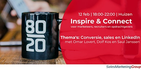 Inspire & Connect |  12 februari tickets