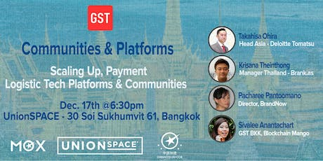 Scaling Up for Tech Communities & Platforms tickets