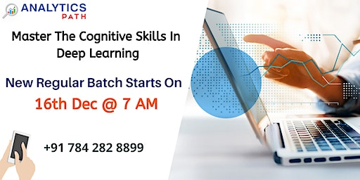 Register For Deep Learning Training New Regular Batch  From 16th Dec @ 7 am