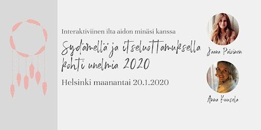 Sydämellä ja itseluottamuksella kohti unelmia 2020 -workshop
