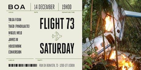 Flight 73 tickets