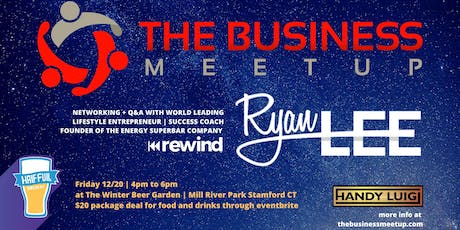 The Business Meetup at Half Full Brewery's Winter Beer Garden tickets