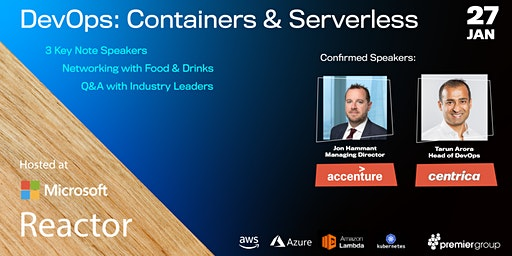 Premier Talks presents: DevOps - Containers and Serverless