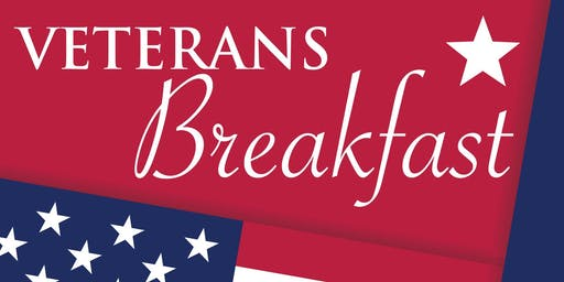 FREE Veterans Breakfast! Non-Veterans $6