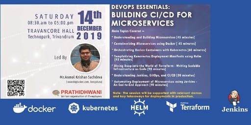 Session on DevOps essentials: Building CI/CD for Microservices-