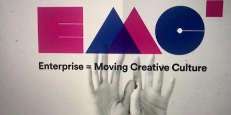 Prensentazione Bando E=MC2 per ARTISTI   CREATIVI   OPERATORI CULTURALI biglietti
