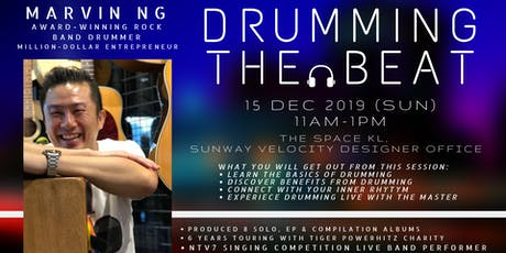 Drumming The Beat with Master Drummer Marvin tickets