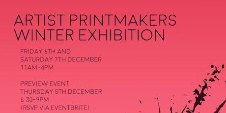 Artist Printmakers Winter Exhibition tickets