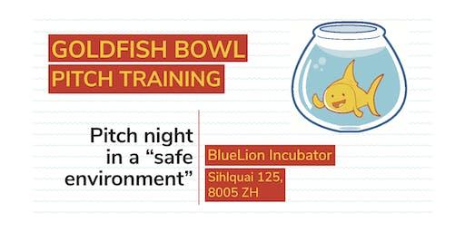 Goldfish Bowl Pitch Event (January)