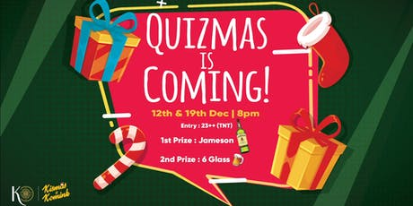 Quizmas Night at Knowhere tickets
