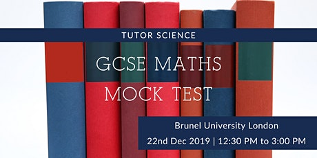GCSE Maths Mock Test tickets