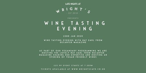 Wine tasting Evening with Nat Earl from Decanter Magazine