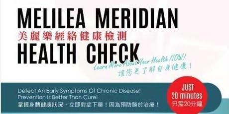 Meridian Health Check tickets