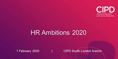 HR Ambitions 2020 tickets