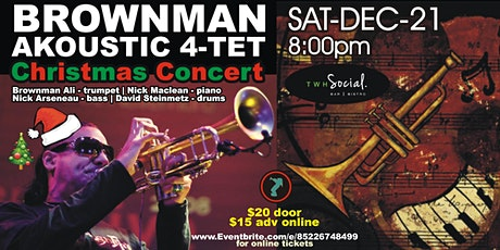 Brownman Akoustic 4-tet - Christmas Concert (Kitchener) tickets