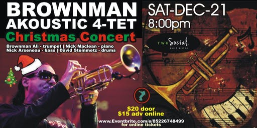 Brownman Akoustic 4-tet -Christmas Concert (St Catharines)
