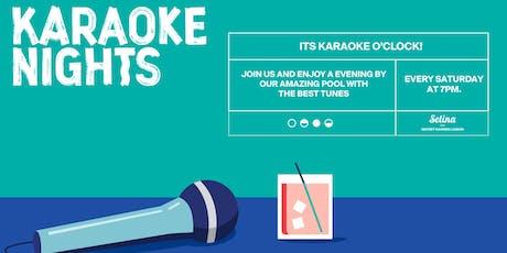 BYO Selina Karaoke Nights bilhetes