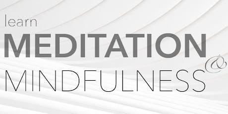Learn Meditation & Mindfulness tickets