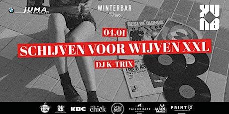 Winterbar Mirage Mechelen: Schijven voor Wijven XXL Gold edition | Kuub tickets