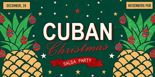Cuban Christmas salsa party