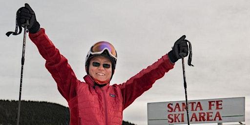 The skiing monk - Furchtlosigkeit und Selbstvertrauen
