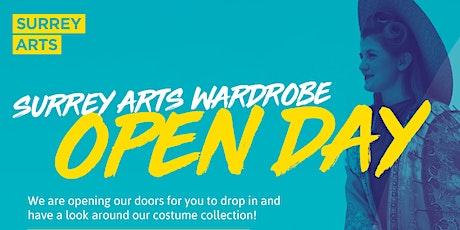 Surrey Arts Wardrobe Open Day tickets