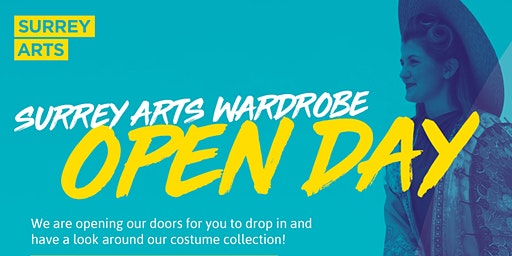 Surrey Arts Wardrobe Open Day