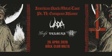 UADA | Grift | Solbrud | Velnias LIVE in Köln tickets