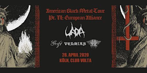 UADA | Grift | Solbrud | Velnias LIVE in Köln