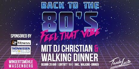 80er Jahre Party mit DJ Christian in Wassenberg Tickets
