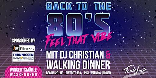80er Jahre Party mit DJ Christian in Wassenberg