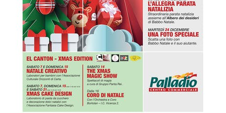 NATALE CREATIVO @EL CANTON-XMAS EDITION biglietti