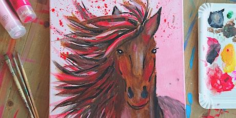 """Kreativ Workshop """"Krafttier Pferd"""" Tickets"""