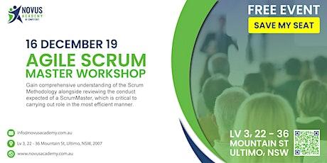 Free Agile Scrum Workshop tickets