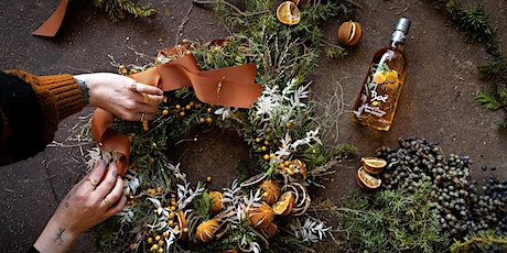 Boë Gin Boozy Christmas Wreath-making Workshop tickets
