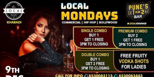Mondays at Local with Mad Combos