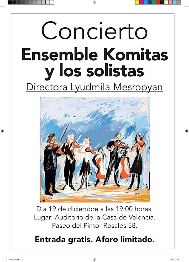 Imagen de CONCIERTO de Ensemble Komitas