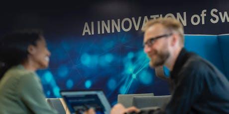 AI Innovation of Sweden – för ökad konkurrenskraft & positiv samhällsutveck biljetter