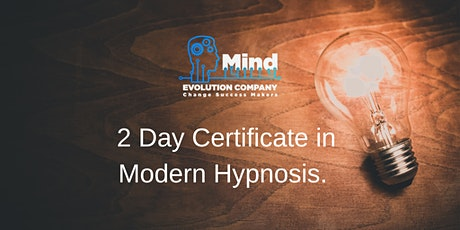2 Day Certificate in Modern Hypnosis tickets