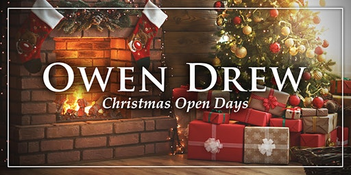 Owen Drew Christmas Open Day