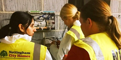 Women in Construction Taster workshop, April 2020