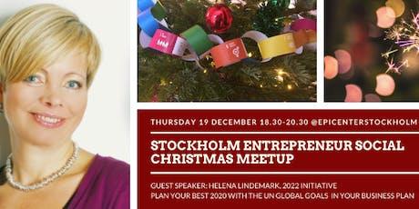 Stockholm Entrepreneur Social - Christmas Special tickets