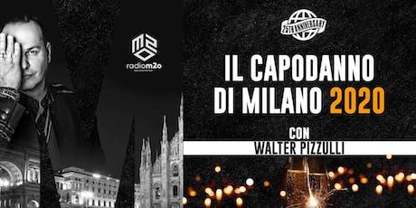 Capodanno 2020 ai Magazzi Generali di Milano con Walter Pizzulli di M2O tickets