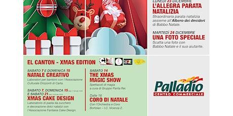 XMAS CAKE DESIGN @EL CANTON-XMAS EDITION biglietti