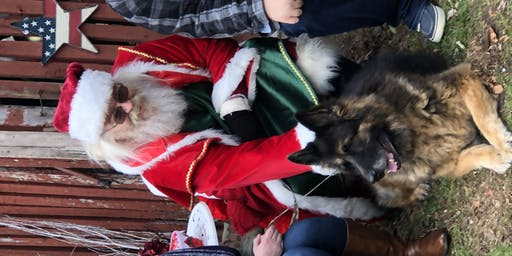 Pet Photos with Santa at Echo Hill Farm 2pm to 4pm. Must be on a lease.